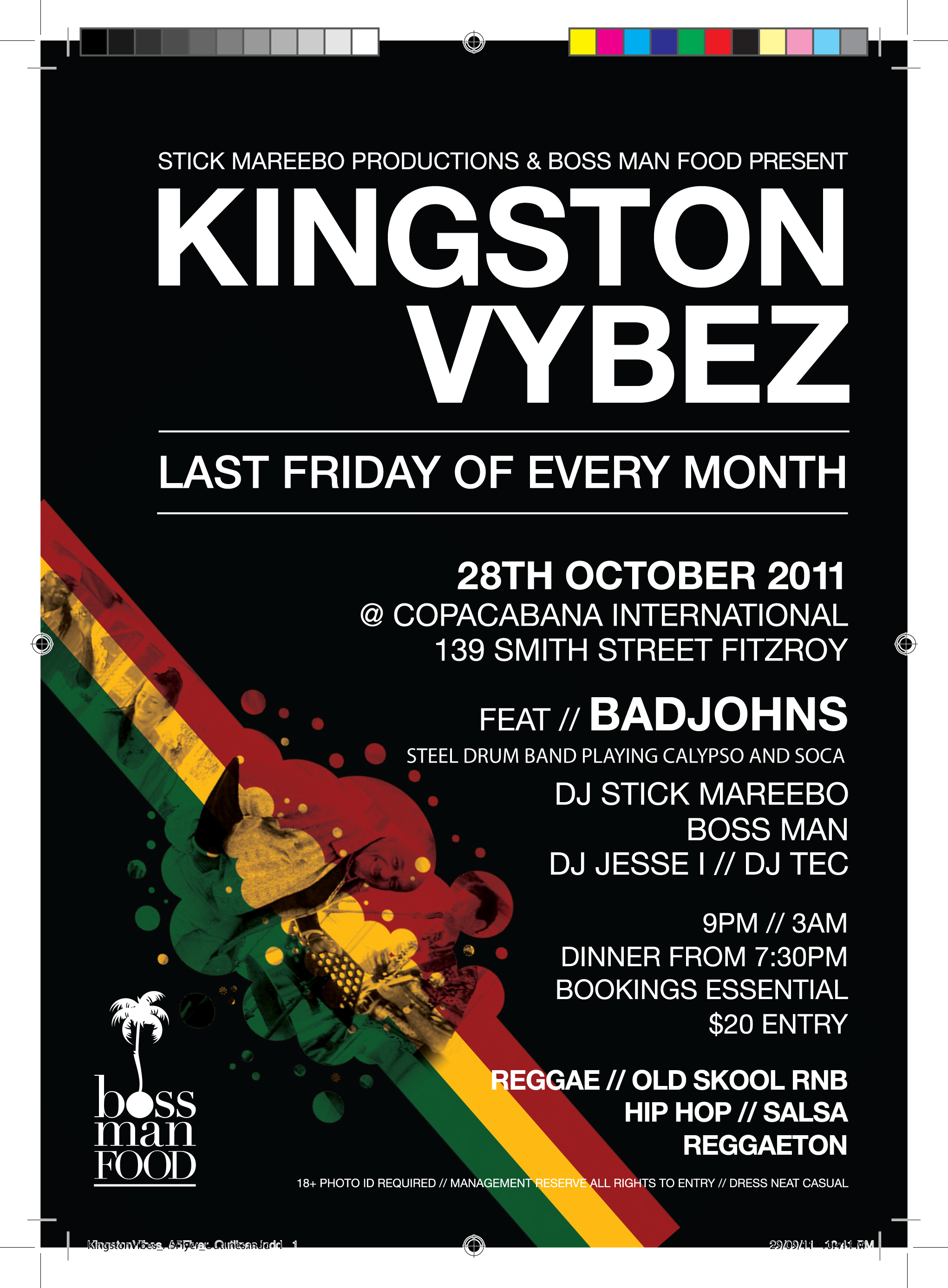 CaribVic & The Badjohns Steelband with Kingston Vybez at the Copacabana